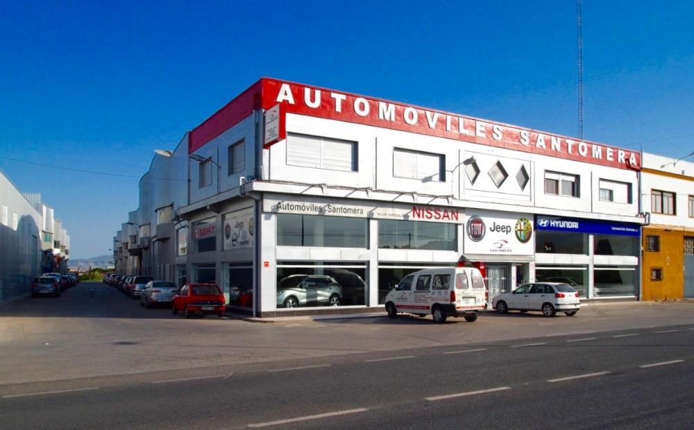 concesionario coches santomera murcia nissan hyundai