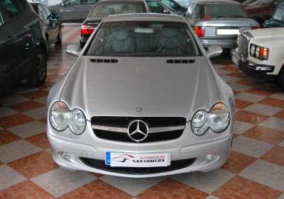 Mercedes-Benz SL500 Gasolina de segunda mano en Murcia